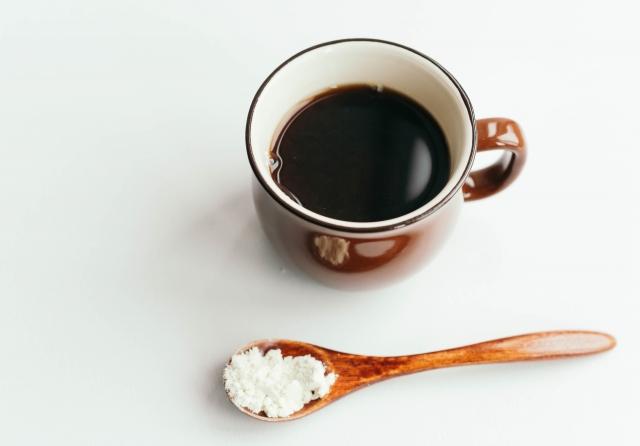 コーヒーにおからパウダー
