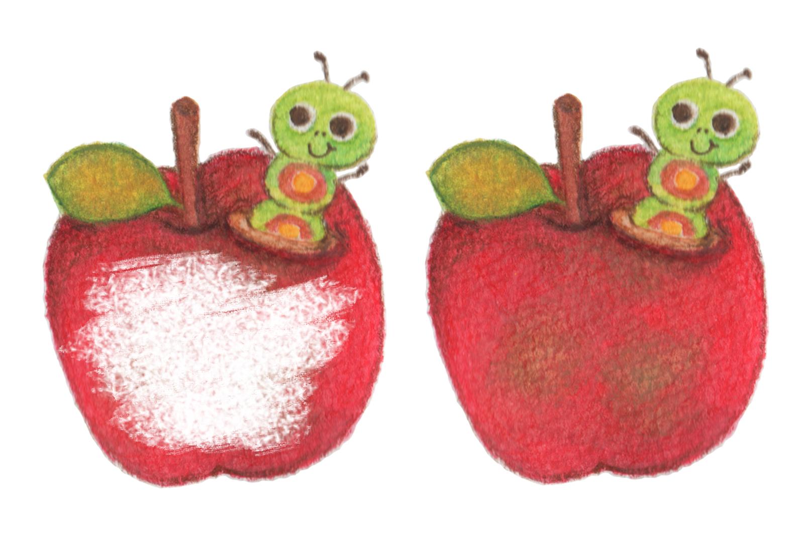 虫食いりんご