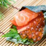 鮭の手巻き寿司