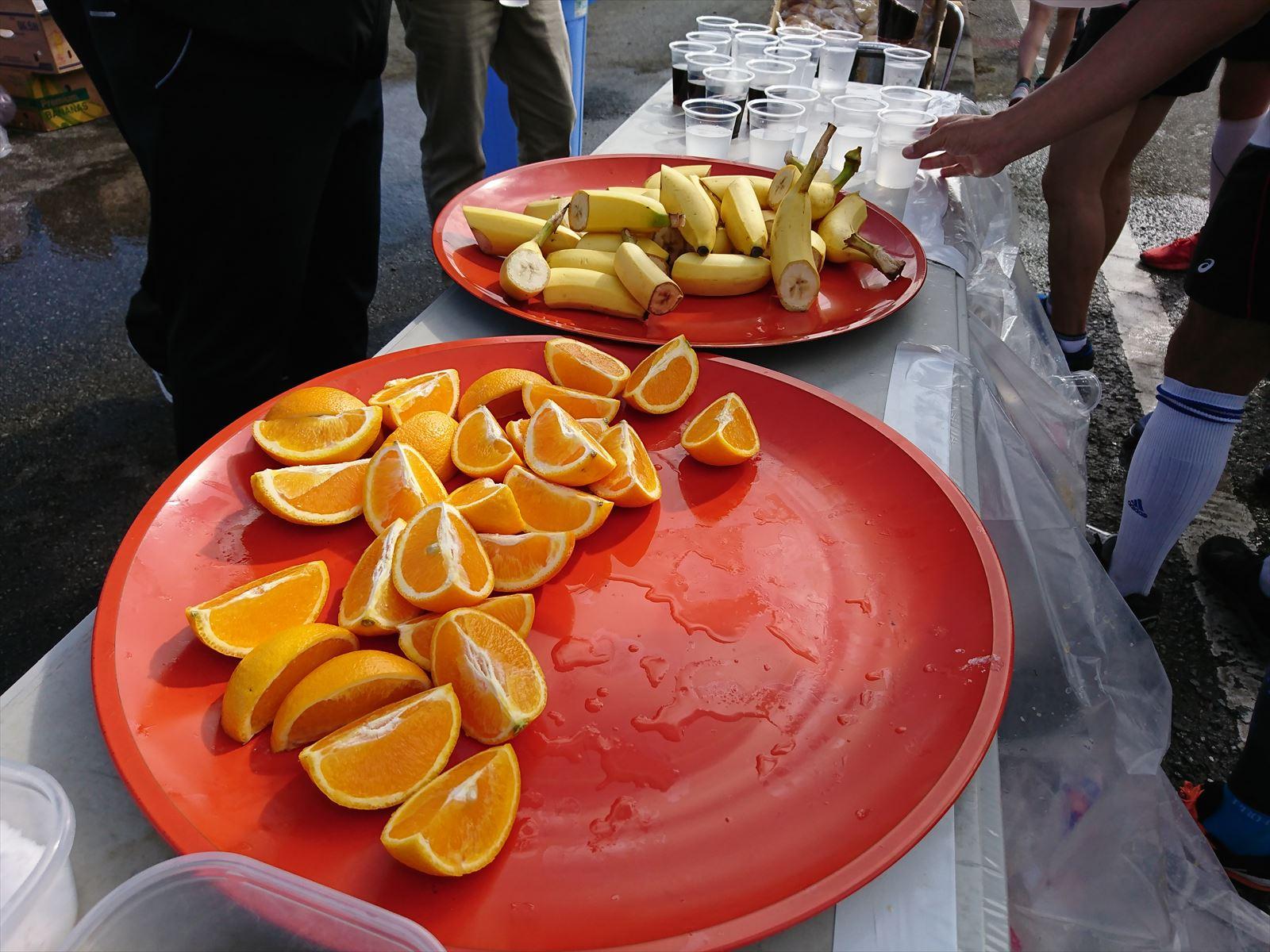 バナナとオレンジ