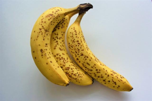 ホットスポットが出たバナナ