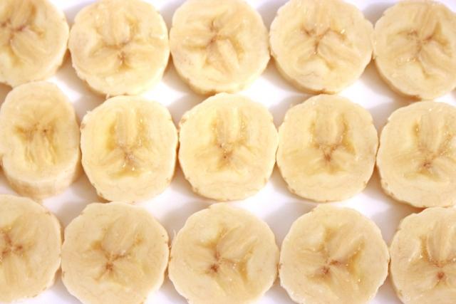 輪切りバナナ